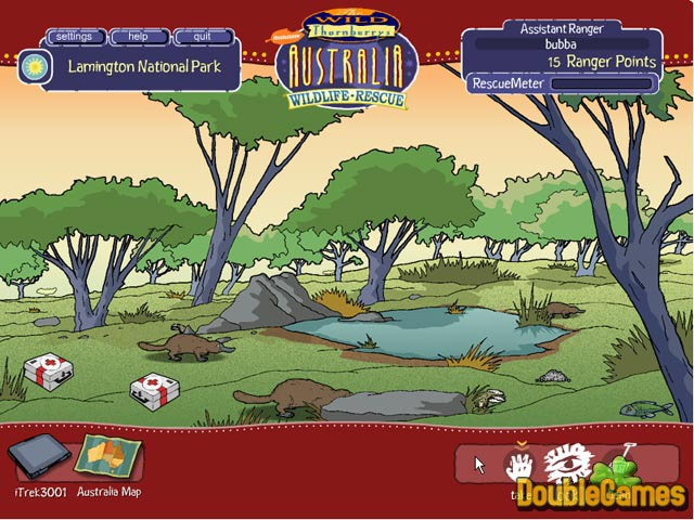 Free Download Wild Thornberrys Australian Wildlife Rescue Screenshot 1