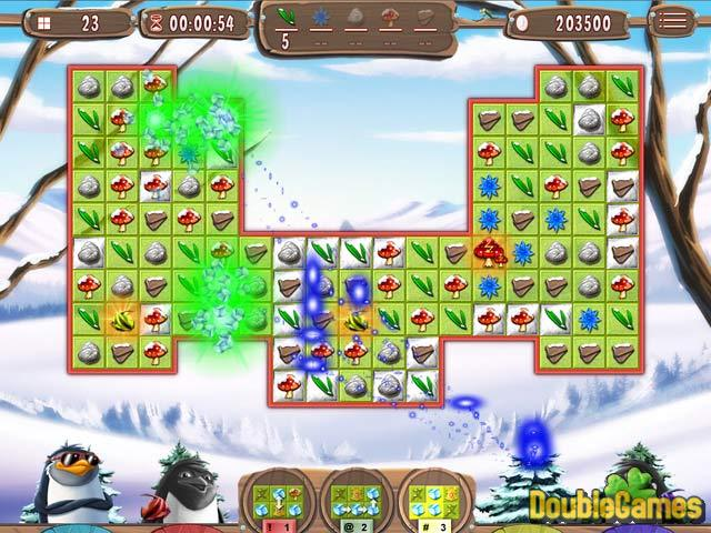 Free Download Yeti Quest: Crazy Penguins Screenshot 1