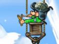 В игре Храбрый поросенок отважный поросенок спасает своих собратьев от мрач